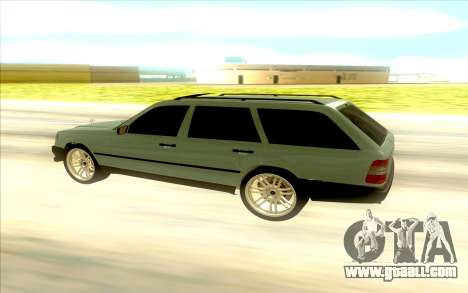 Mercedes-Benz W124 Wago for GTA San Andreas left view