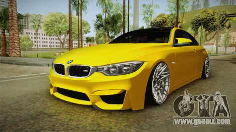 BMW M4 F82 Stance for GTA San Andreas right view
