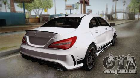 Mercedes-Benz CLA45 AMG 2017 for GTA San Andreas left view