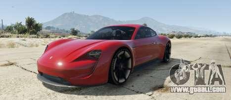 Porsche Mission E 2015 for GTA 5