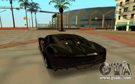 Bugatti Chiron FSB for GTA San Andreas right view