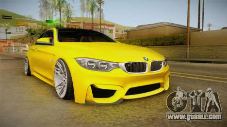 BMW M4 F82 Stance for GTA San Andreas