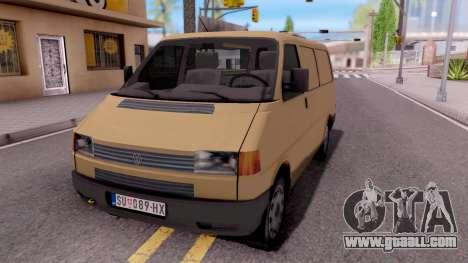 Volkswagen Transporter T4 Special for GTA San Andreas