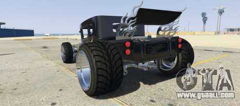 GTA 5 The BoneShaker 1.0 left side view