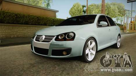 Volkswagen Jetta 2007 for GTA San Andreas back left view