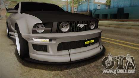 Ford Mustang Rocket JDM for GTA San Andreas upper view