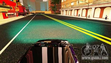 HID KIT BI-XENON H4 6000K for GTA San Andreas sixth screenshot