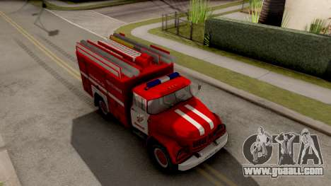 ZIL-130 AMUR Fire for GTA San Andreas right view
