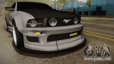 Ford Mustang Rocket JDM for GTA San Andreas side view