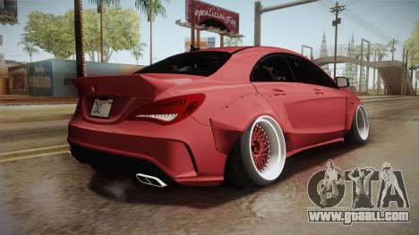 Mercedes-Benz CLA 45 AMG WideBody 2014 for GTA San Andreas left view