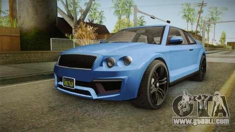 GTA 5 Enus Huntley Coupè for GTA San Andreas