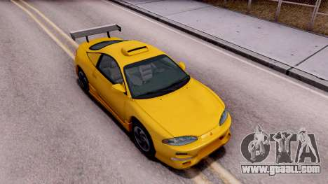 Mitsubishi Eclipse GST 1995 for GTA San Andreas right view