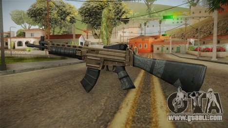 World War Z - Assault Rifle for GTA San Andreas third screenshot