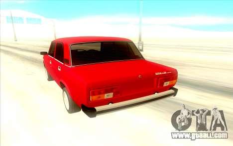 Lada Riva for GTA San Andreas back view