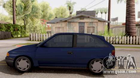 Opel Astra F for GTA San Andreas left view