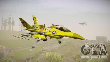 FNAF Air Force Hydra Golden Freddy for GTA San Andreas