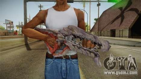 Collector Assault Rifle for GTA San Andreas third screenshot