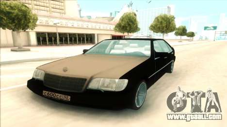 Mercedes-Benz 600 SEL for GTA San Andreas right view