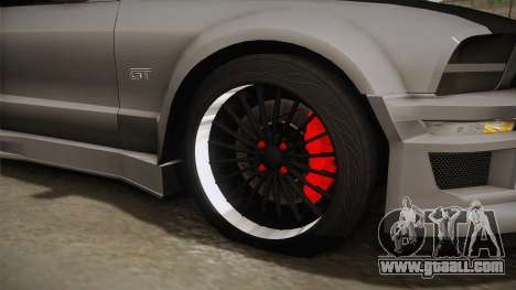 Ford Mustang Rocket JDM for GTA San Andreas back view