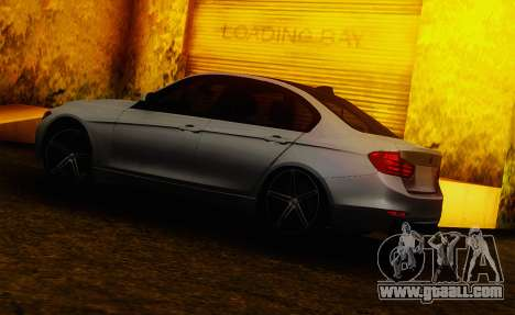 BMW F30 335i Light Tuning for GTA San Andreas left view