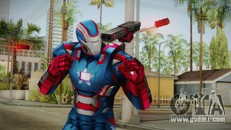 Marvel Future Fight - Iron Patriot for GTA San Andreas