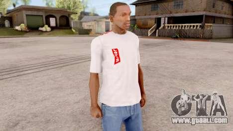 Levis T-shirt for GTA San Andreas second screenshot