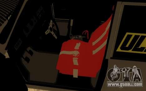 VAZ 2107 Drift for GTA San Andreas back view