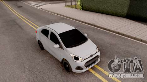 Hyundai i10 for GTA San Andreas right view