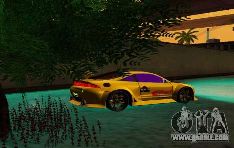 Mitsubishi Eclipse GST 1999 for GTA San Andreas interior