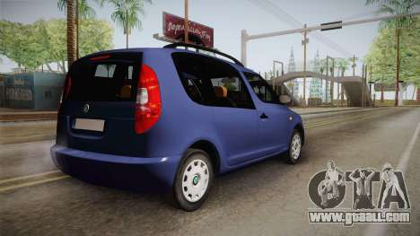 Skoda Roomster for GTA San Andreas left view