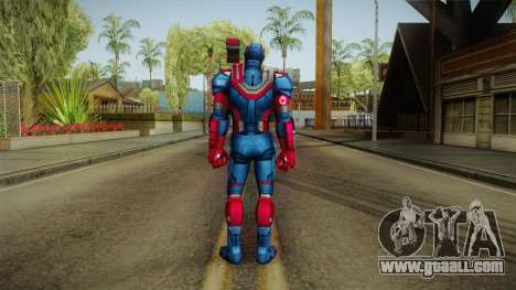 Marvel Future Fight - Iron Patriot for GTA San Andreas third screenshot