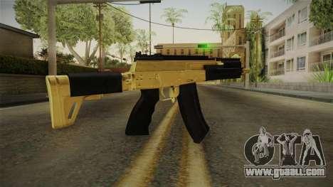 AK-12 Gold for GTA San Andreas third screenshot