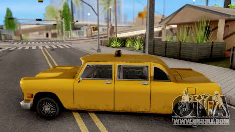 Cabbie New Texture for GTA San Andreas left view