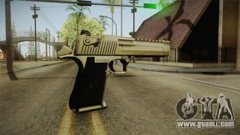 Desert Eagle 24k Gold for GTA San Andreas third screenshot