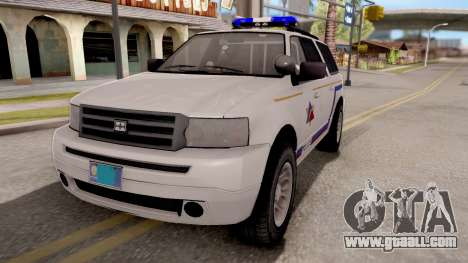 Dundreary Landstalker Hometown PD 2009 for GTA San Andreas