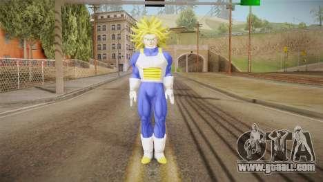 DBX - Super Trunks Saiyan Armor for GTA San Andreas second screenshot