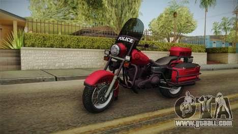 GTA 5 Police Bike for GTA San Andreas