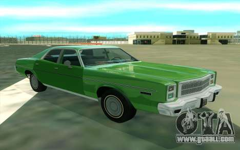 Plymouth Fury Salon 1978 for GTA San Andreas