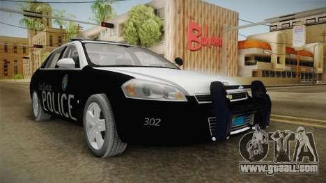 Chevrolet Impala 2009 LSPD for GTA San Andreas