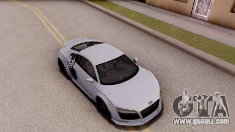 Audi R8 V10 Plus LB Performance for GTA San Andreas right view