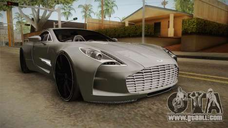 Aston Martin One-77 v2 for GTA San Andreas