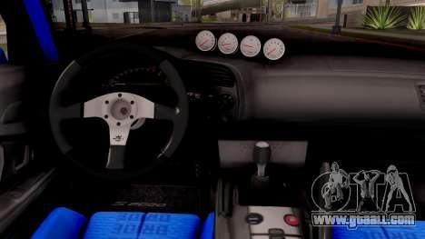 Honda S2000 Pandem Gulf Racing for GTA San Andreas inner view