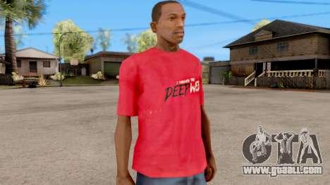 Deep Web T-Shirt for GTA San Andreas second screenshot