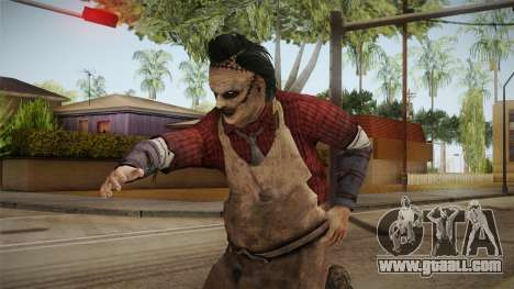Leatherface Butcher for GTA San Andreas