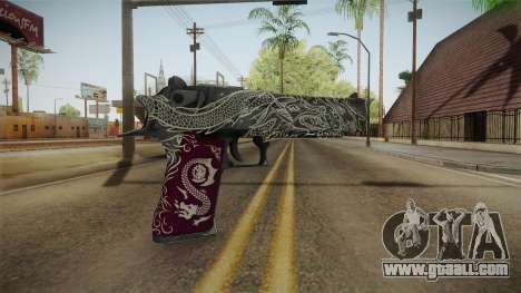 CS:GO - Desert Eagle Kumicho Dragon for GTA San Andreas second screenshot