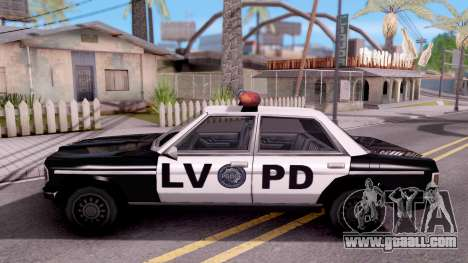 Admiral LVPD for GTA San Andreas left view