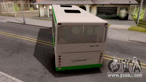 Trailer for LiAZ-6212 for GTA San Andreas left view