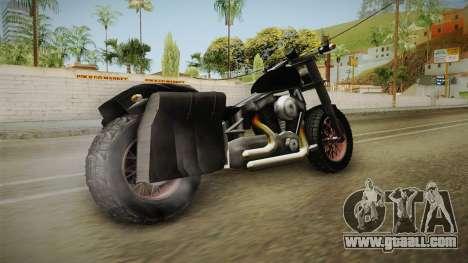 Freeway Adventure Custom v1 for GTA San Andreas left view