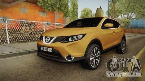 Nissan Qashqai 2016 HQLM for GTA San Andreas