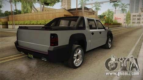 GTA 5 Declasse Granger Pickup for GTA San Andreas left view